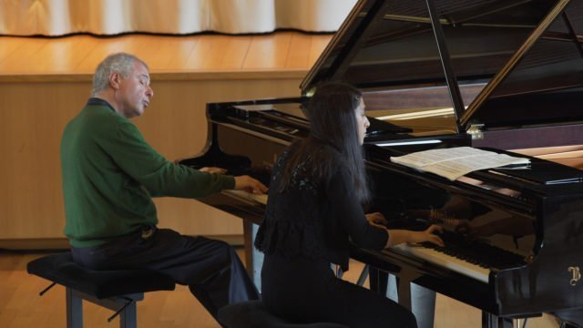 The Gstaad Piano Academy with Sir András Schiff