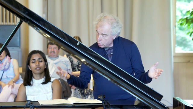 Masterclass with Sir András Schiff – Pallavi Mahidhara plays Brahms